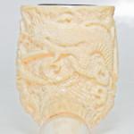 Tsuge REAL Ivory Dragon Billiard NEW Smoking Pipe