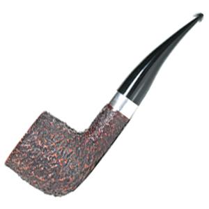 Savinelli Linia Piu 5 Silver Band Filter Smoking Pipe
