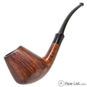 WO Larsen Smoking Pipe Straight Grain 2 Volcano Freehand
