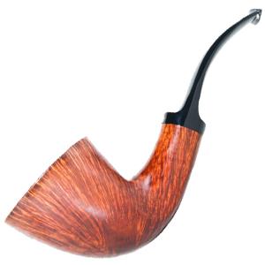 Baldo Baldi Large Dublin 1/2 Bent Smoking Pipe